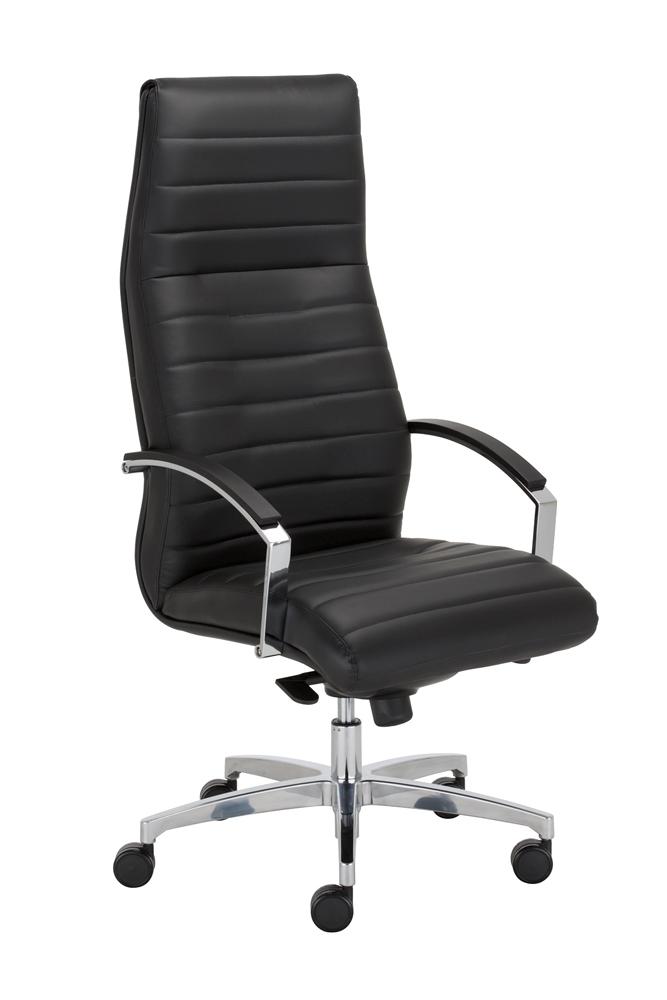 czarny fotel biurowy
