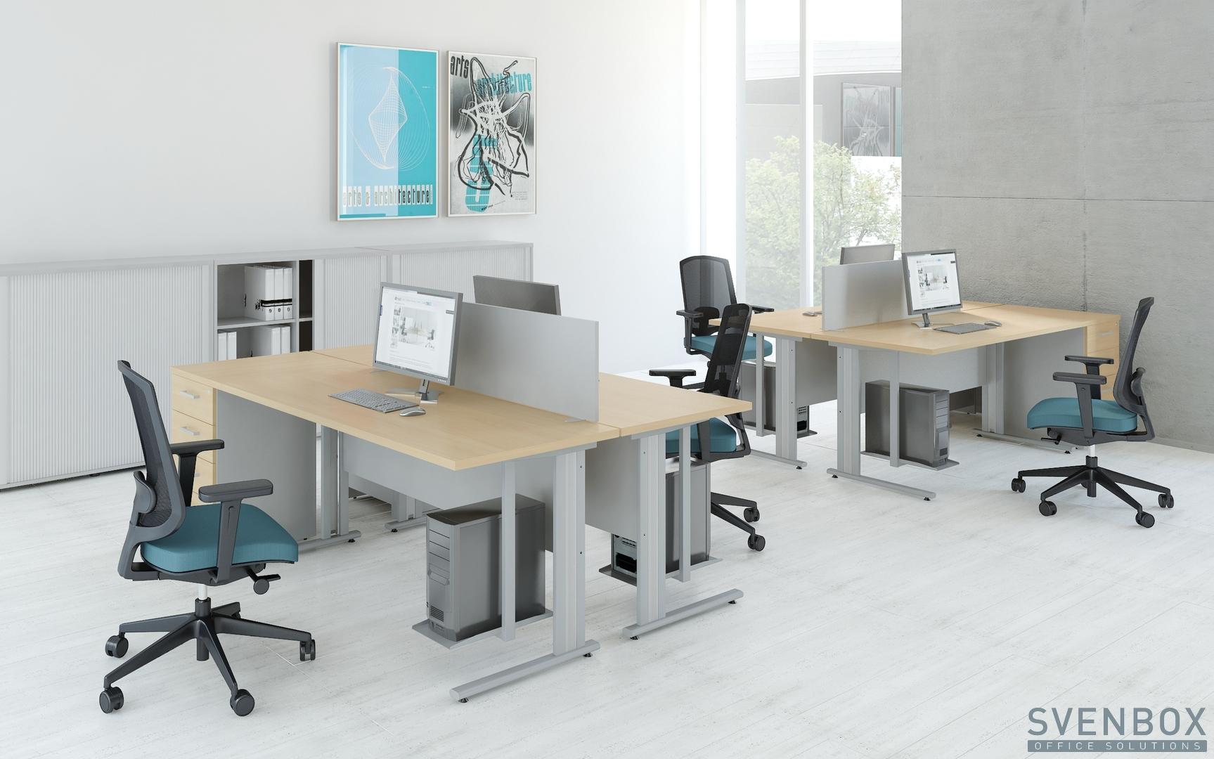 Maksymalne wykorzystanie przestrzeni z naszymi meblami biurowymi